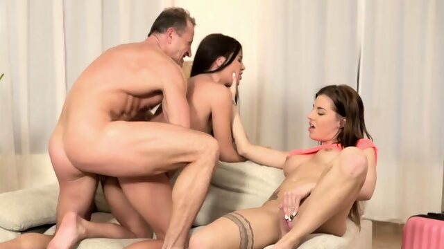 fingering doggystyle Very old s first time Mom's 2 crony's daughters getting