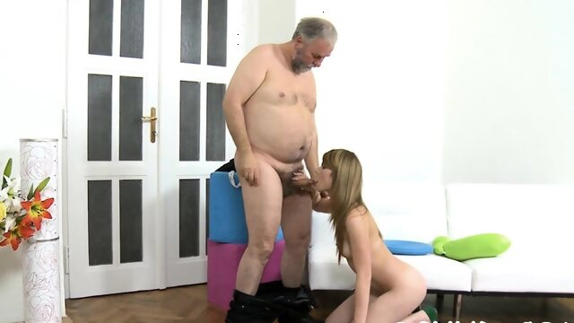 brunette blowjob Remarkable russian redhead whore gets groped and fucked
