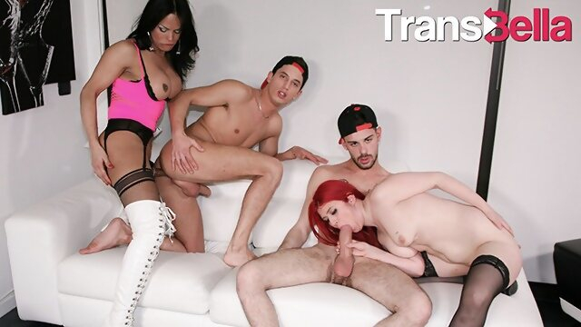 ass transbella TransBella - Bia Mastroianni Big Ass Brazilian Shemale Crazy Foursome With Kinky Slut