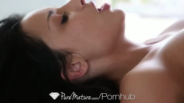 mom puremature HD - PureMature - MILF Anissa Kate gets her asshole blasted by cock