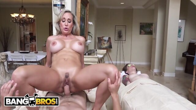 mother bbc16024 BANGBROS - Sultry MILF Masseuse Brandi Love Seduces Juan El Caballo Loco