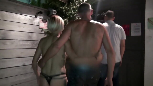 flashing public nudity Swinger Club 20