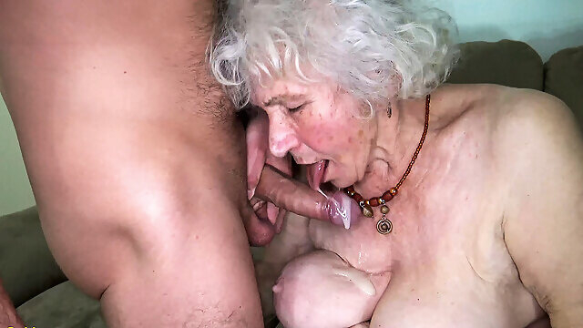 granny big tits curvy 91 years old mom fucked by toyboy