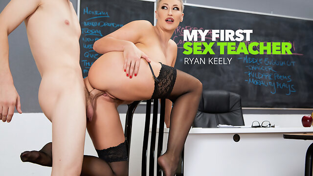 big tits big ass Prof. Conner Pops A Cherry - MyFirstSexTeacher