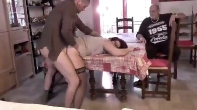 french anal French mature anal juice on the table