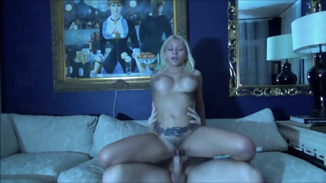 blowjob blonde Brother & Stepsister Have Midnight Sex - Marsha May