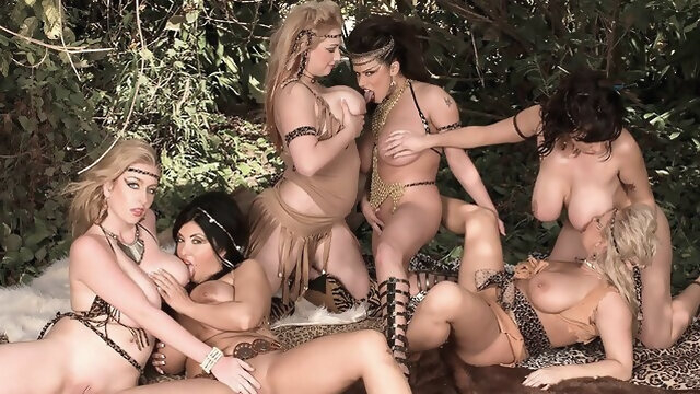 big tits big ass Attack Of The Mamazons - Alexis Silver, Rachel Love, Daylene Rio, Kali West, Shyla Shy, and Alia Janine - Daylene Rio