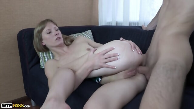 blonde anal Sexy Blonde Stranger Agrees To Try Anal