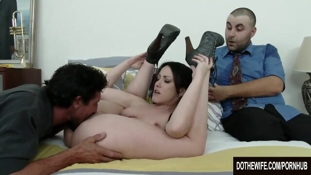 natural dothewife Jennifer White fucked in front of husband