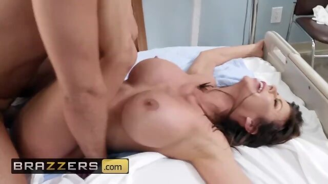 tits dick Brazzers - Hot milf nurse Alexis Fawx Fucks the Pain Away