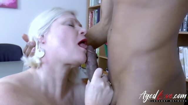 mature mom AgedLovE Lacey Starr Busty Blonde Mature Hardcore