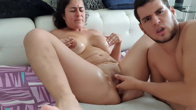 mature asian Monster Squirt with Fisting in Pussy