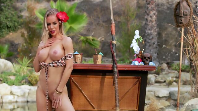 big tits american HollyRandall - Nicole Aniston Tiki Princess