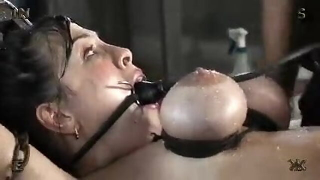sex toy blowjob Bdsm & Eesm - Torture At A Farm – Chained Slavegirl