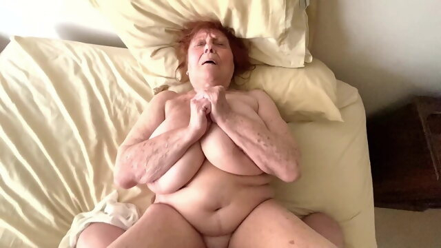bbw amateur Naughty Granny Satisfies Insatiable Desire For Young Cock
