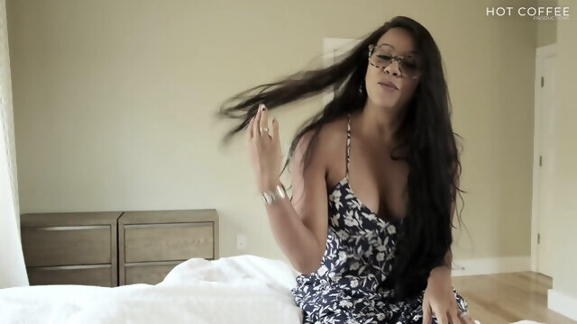 brunette blowjob I love having morning sex with my stepson