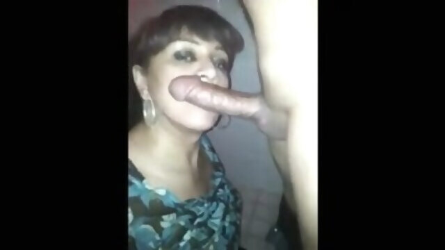 blowjob amateur My stepmother sucks me and I swallow