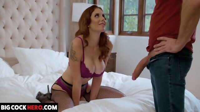 big tits big cock Lilian Stone Gets Big Dick From Boyfriends Friend