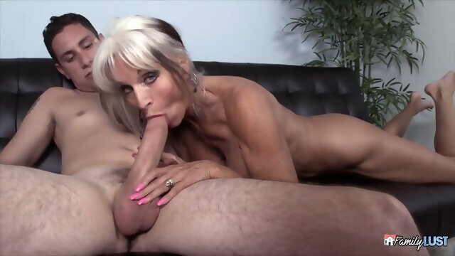 blonde big tits Sally D Angelo - Grandma Knows Best