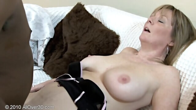blonde big cock Mature Sophie