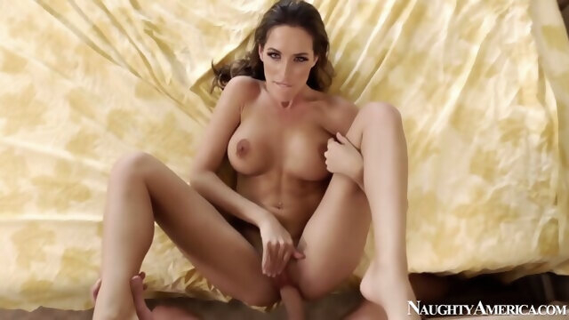 cumshot brunette Kortney Kane