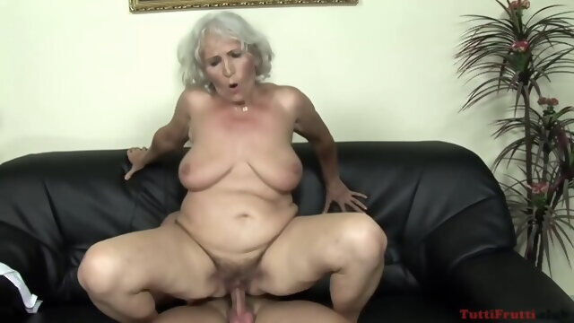 blonde big tits Naughty Granny, Norma Likes To Hook Up With Some Younger Guy And Have Sex With Him